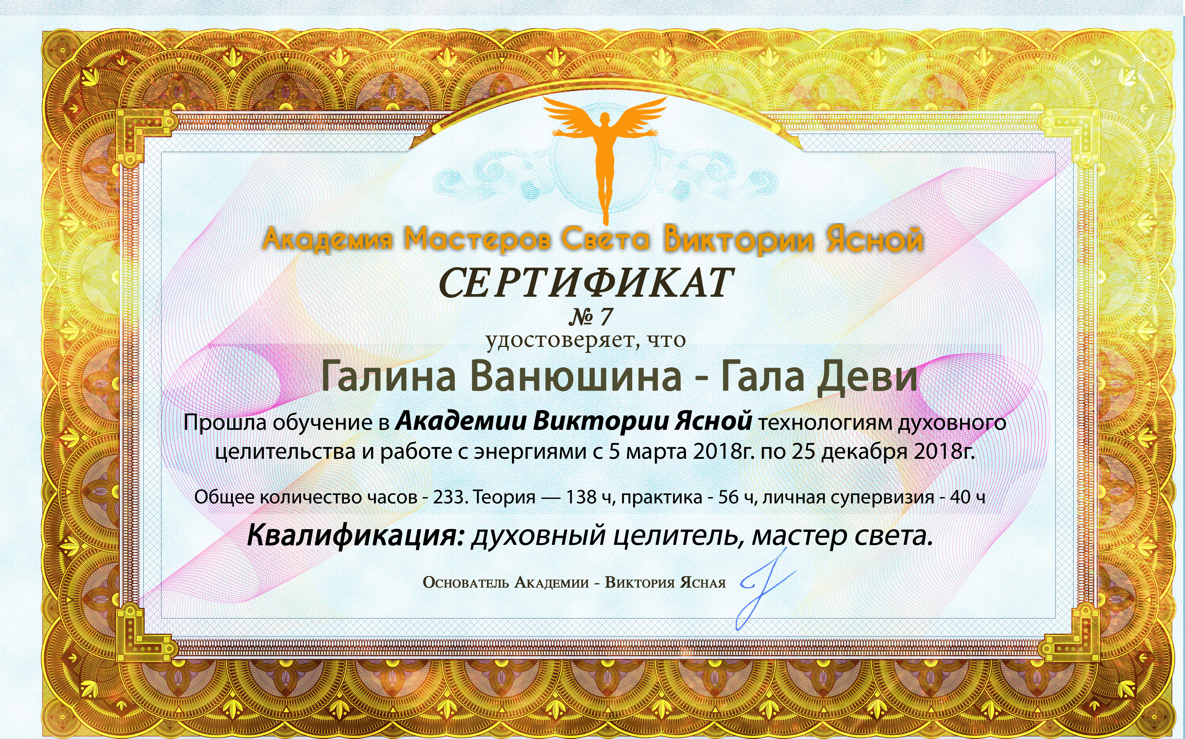 7 Галина Ванюшина (Гала Деви)