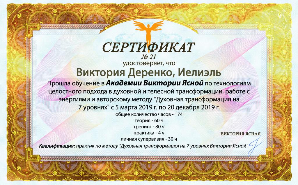 Сертификат_Виктория Деренко_Иелиэль_8